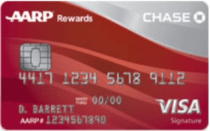 Chase/aarp credit card